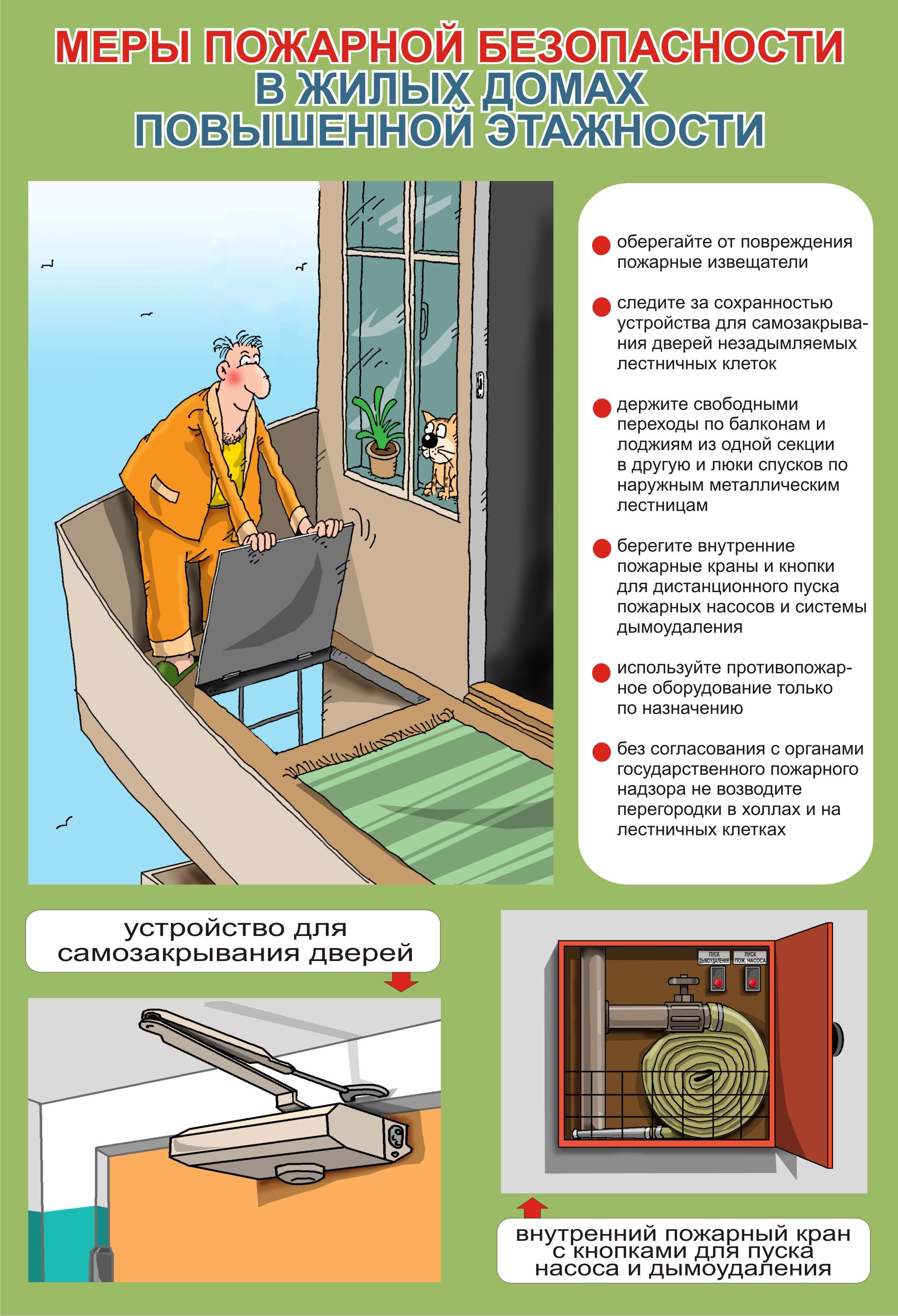 нормы по противопожарным дверям в многоквартирных домах делать